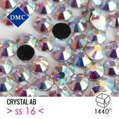 Strass Rhinestones  DMC Termoadesivo Hotfix ss 16 Crystal AB - 1440PZ