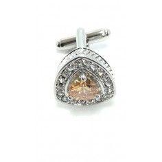 Cufflinks Triangular Stone...