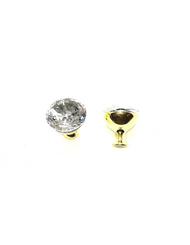 Knobs with Strass 25 mm Crystal /...