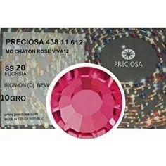 Strass Preciosa Termoadesivo ss 20  Fuchsia - 1440 pz Rhinestones Hotfix