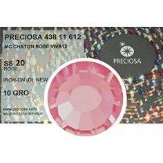 Strass Preciosa Termoadesivo ss 20 Rose - 1440 pz Rhinestones Hotfix