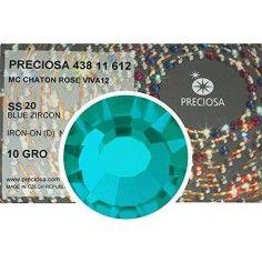 Strass Preciosa Termoadesivo ss 20  Blue Zircone - 1440 pz Rhinestones Hotfix