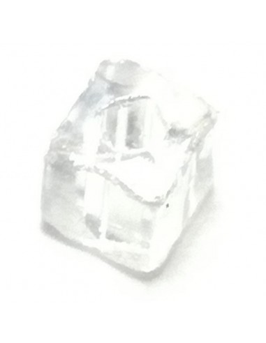 Square Tube Preciosa mm 2x2 Crystal -...