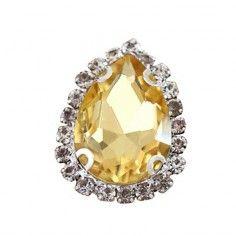 Drop stone 1,8X2,5 cm  Lt....
