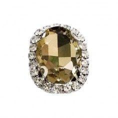 Oval Stone 1,8X2,3 cm Lt...