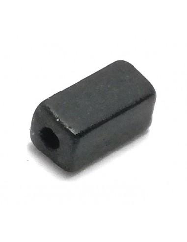 Square Tube Preciosa mm 7x3,4 Black...
