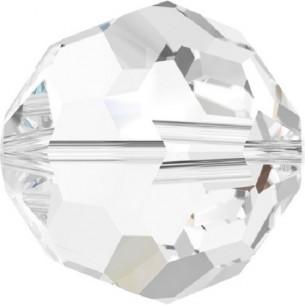 Beads a forma di Sfera Swarovski da 3 mm,  crystal.