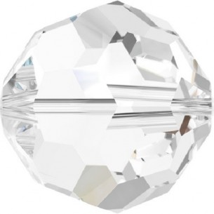 Swarovski Sphere Beads 3 mm, color: crystal.