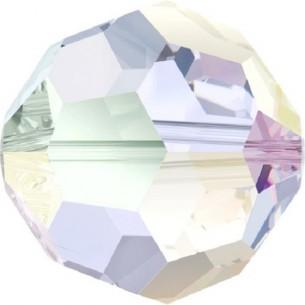 Beads a forma di Sfera Swarovski da 3 mm,  crystal aurora boreale