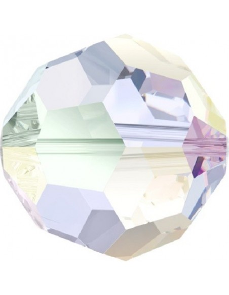 Swarovski Sphere Beads 3 mm, color: crystal aurora borealis