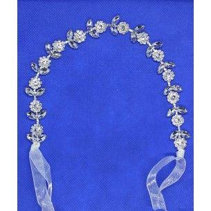 Bridal headband 27X1.5 cm...
