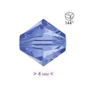 Bicono in Cristallo mm 4 Sapphire - 144PZ