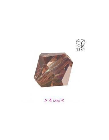 Bicono in Cristallo mm 4 Capri Gold Half - 144PZ