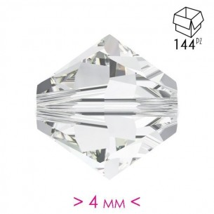 Bicone  Crystal 4 mm - 144Pcs