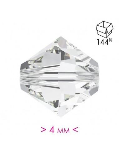 Bicono in Cristallo mm 4 Crystal - 144PZ