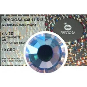 Strass Preciosa Termoadesivo ss 20  Alexandrite AB - 1440 pz Rhinestones Hotfix