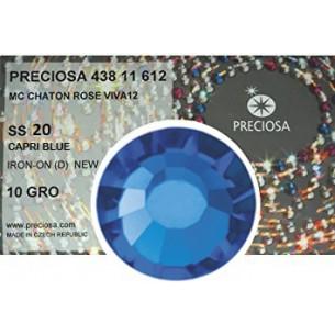Strass Preciosa Termoadesivo ss 20  Capri blue - 1440 pz Rhinestones Hotfix