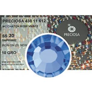 Strass Preciosa Termoadesivo ss 20  sapphire - 1440 pz Rhinestones Hotfix