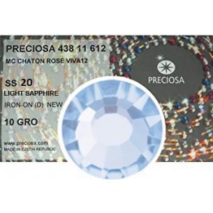 Strass Preciosa Termoadesivo ss 20  light sapphire - 1440 pcs Rhinestones Hotfix