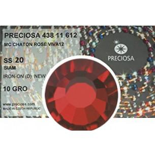 Strass Preciosa Termoadesivo ss 20  Siam- 1440 pz Rhinestones Hotfix
