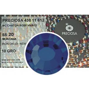 Strass Preciosa Termoadesivo ss 20  montana- 1440 pz Rhinestones Hotfix