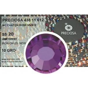 Strass Preciosa Termoadesivo ss 20  Amethyst- 1440 pz Rhinestones Hotfix