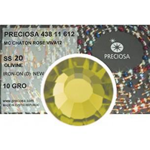 Strass Preciosa Termoadesivo ss 20  Olivine - 1440 pz Rhinestones Hotfix