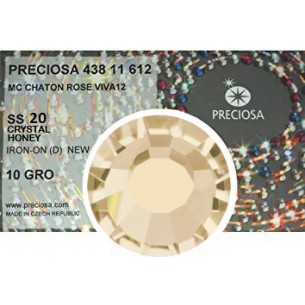 Preciosa Rhinestones  Strass Hotfix ss 20  Honey - pack 1440 pcs