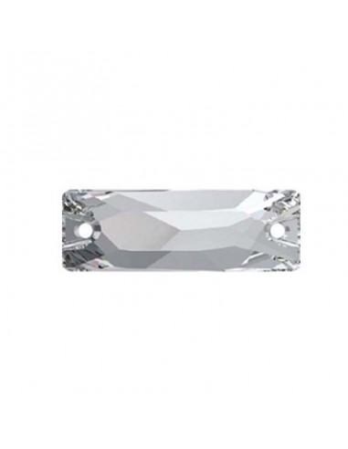 Sew on  stone Baguette mm 18x6 Crystal