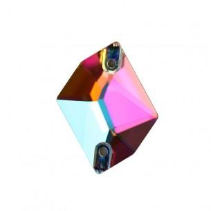 Pietra da cucire Cosmic mm 26x21 Crystal AB