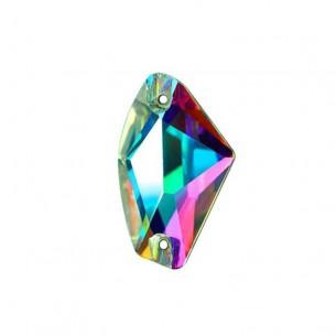 Pietra da cucire  Galactic mm 19x12 Crystal AB