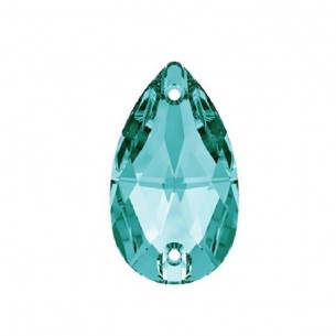 Stone sew on Drop mm 18x10,5 Blue Zircon