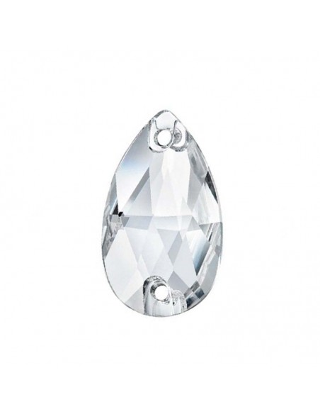 Stone sew on Drop mm 28x17 Crystal