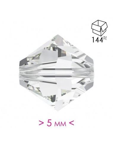Bicono in Cristallo mm 5 Crystal - 144PZ