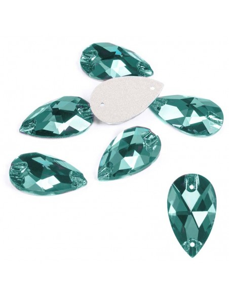 Pack Stone sew on Drop mm 18x10,5 Indicolite