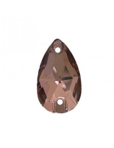 Stone sew on  Drop mm 18x10,5 Lt. Smoke Topaz