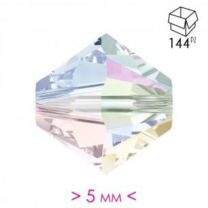 Bicone Crystal AB 5 mm  -...