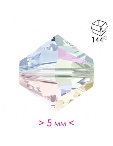 Bicono in Cristallo mm 5 Crystal AB - 144PZ