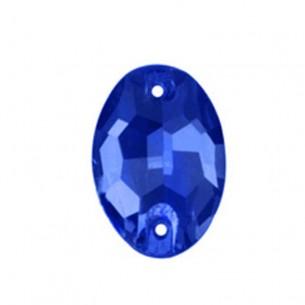 Stone sew on Oval 16x11 mm Capri Blu