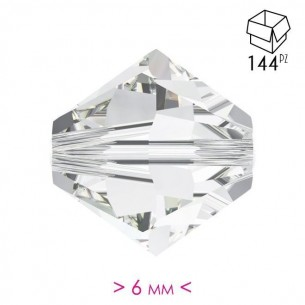 Bicone Crystal  6 mm - Pack...