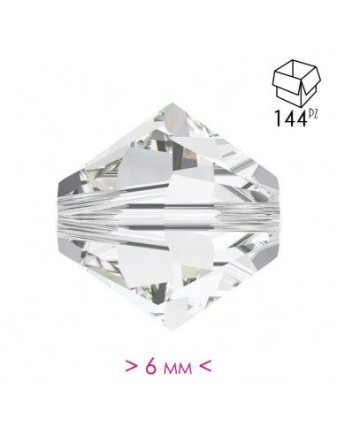 Bicone Crystal  6 mm - Pack 144 pcs