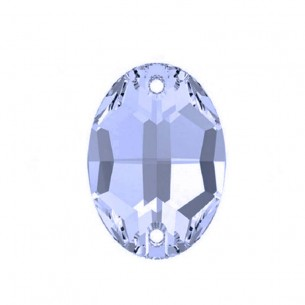 Stone sew on Oval 24x17 mm Light Sapphire