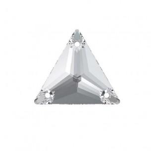 Pietra da cucire Triangolo mm 16 Crystal