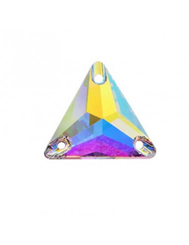 Stone sew on Triangle mm 16 Crystal AB