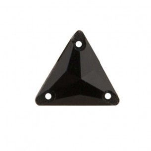 Stone sew on Triangle mm 16 Hematite