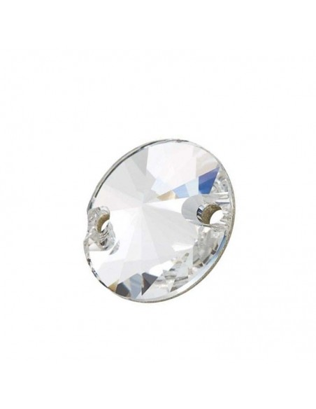 Stone sew on Round mm 14 Crystal