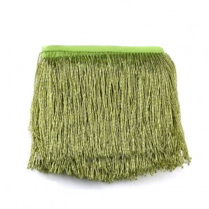 Fringes Sewing Bugles Peridot
