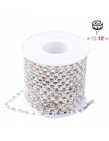 Distant Strass Chain ss 12 Crystal...