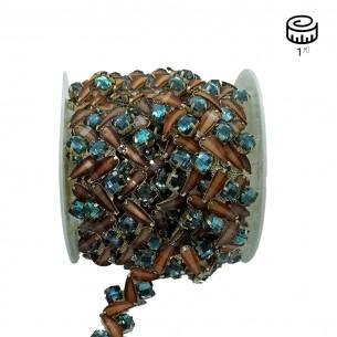 jewel Strass Chain cm 2,1...