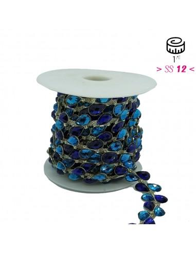 Jewel Strass Chain Cristal - Stone...